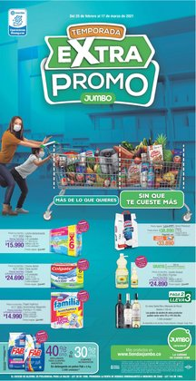 Ofertas de Supermercados en el catálogo de Jumbo en Floridablanca ( 10 días más )