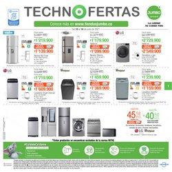 Ofertas de Tiendas departamentales en el catálogo de Jumbo ( Vence hoy)