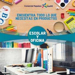 Catálogo Comercial Papelera ( Caduca hoy )