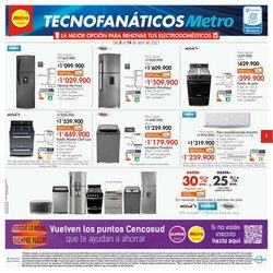 Catálogo Metro ( 4 días más)