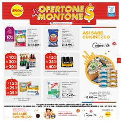 Ofertas de Supermercados en el catálogo de Metro en Barranquilla ( Vence mañana )