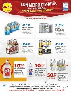 Ofertas de Supermercados en el catálogo de Metro ( 8 días más)