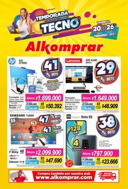 Ofertas de Informática y electrónica en el catálogo de Alkomprar en Envigado ( 2 días más )