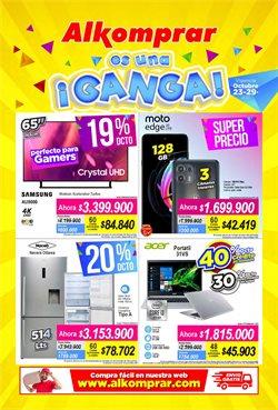 Ofertas de Supermercados en el catálogo de Alkomprar ( Vence mañana)
