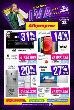 Ofertas de Hogar y Muebles en el catálogo de Alkomprar ( Vence hoy)