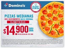 Catálogo Domino's Pizza ( 29 días más )