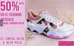 Cupón Price Shoes en Villavicencio ( Vence mañana )