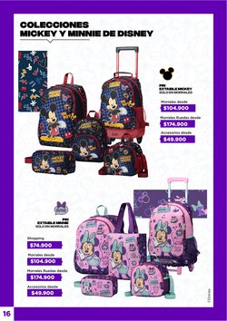 Ofertas de Mickey Mouse en Totto