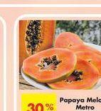 Oferta de Papayas Melonas por