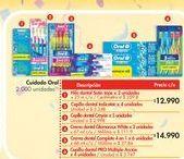 Oferta de Cluster Oral B por $12.99