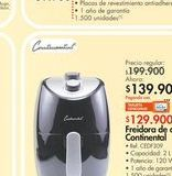Oferta de Freidora Continental por $139.9