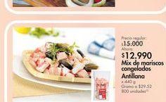 Oferta de Mix mariscos congfelados por $12.99