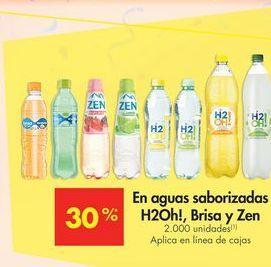 Oferta de Aguas saborizadas por