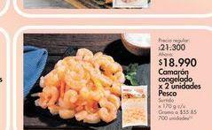 Oferta de Camarones congelados por $18.99