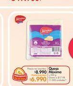 Oferta de Queso crema Máxima por $6.99