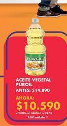Oferta de Aceite vegetal por $10590