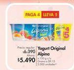 Oferta de Yogurt Alpina por $5.49