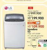 Oferta de Lavadora LG por $1199.9