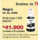 Oferta de Cartuchos de tinta Epson por $41900