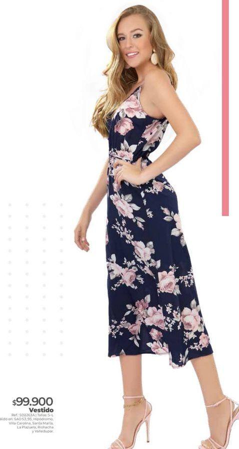 Oferta de Vestido estampado por $99900
