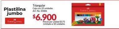 Oferta de Plastilina Faber Castell por $6900