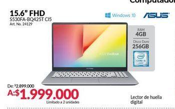 Oferta de Computador Portátil Asus por $1999000