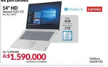 Oferta de Computador Portátil Lenovo por $1590000