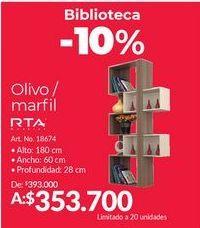 Oferta de Biblioteca RTA por $353700