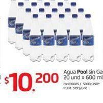 Oferta de Agua por $10200