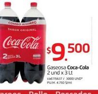 Oferta de Coca-Cola por $9500