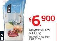 Oferta de Mayonesa Aro por $6900