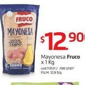 Oferta de Mayonesa Fruco por $12900