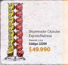 Oferta de Dispensador de cápsulas por $49990