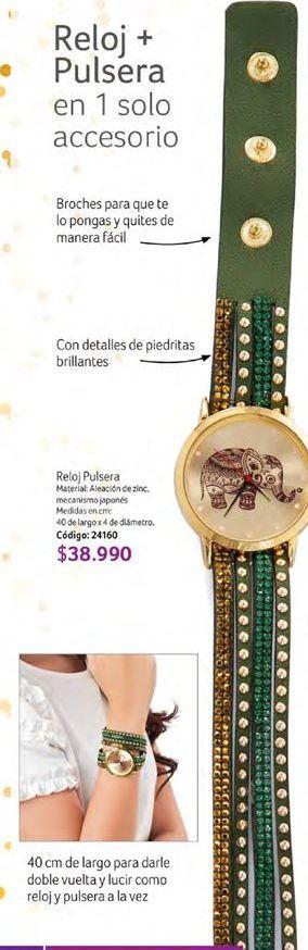 Oferta de Reloj pulsera por $38990