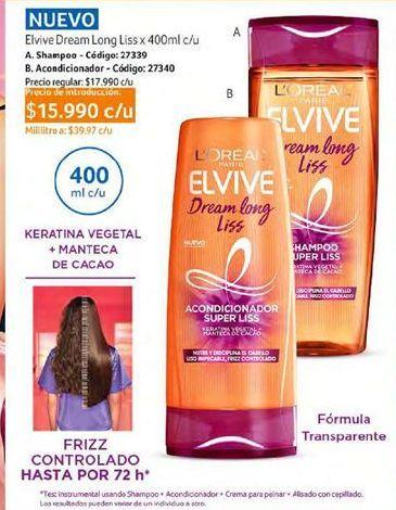 Oferta de Shampoo Elvive por $15990