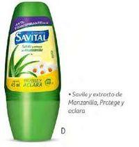 Oferta de Desodorante roll on Savital por $8300