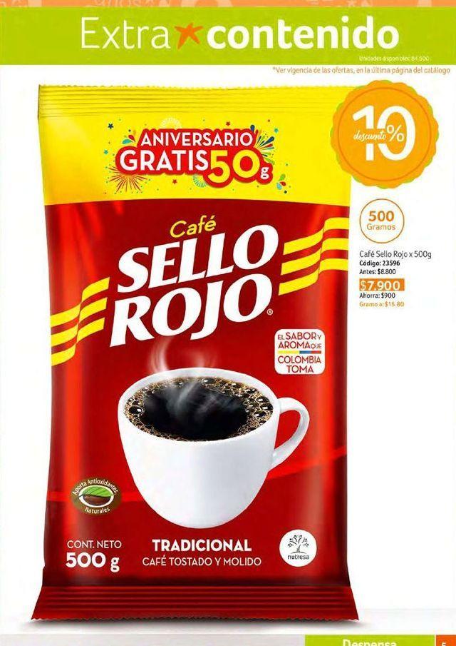 Oferta de Café instantáneo Sello Rojo por $7900