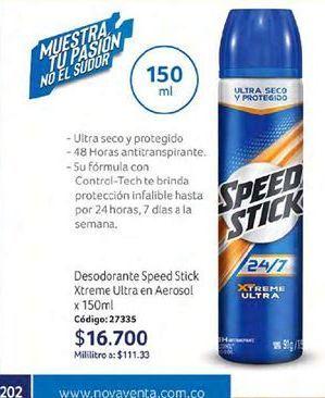 Oferta de Desodorante spray Speed Stick por $16700