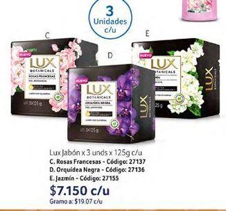 Oferta de Jabón de tocador Lux por $7150