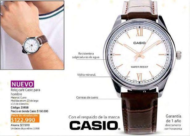Oferta de Reloj pulsera Casio por $122990