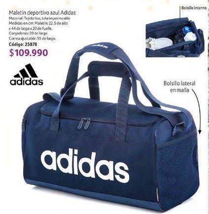 Oferta de Bolsa de deporte Adidas por $109990