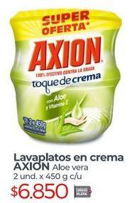 Oferta de Lavaplatos Axion por $6850