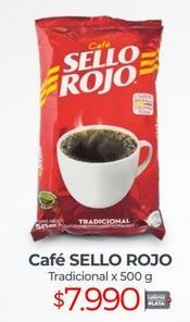 Oferta de Café instantáneo Sello Rojo por $7990