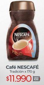 Oferta de Café instantáneo Nescafé por $11990