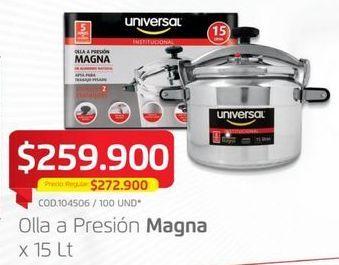 Oferta de Olla a presión Universal por $259900