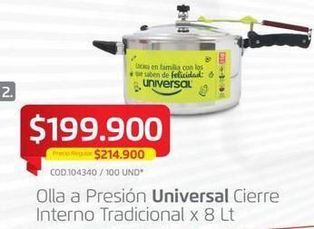 Oferta de Olla a presión Universal por $199900