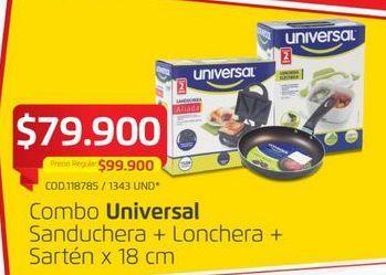 Oferta de Pequeños electrodomésticos Universal por $79900