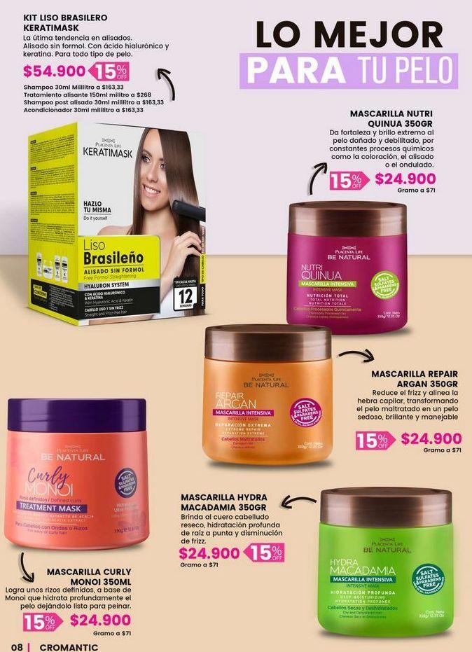 Oferta de Productos para el cabello por