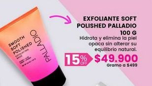 Oferta de Mascarilla exfoliante palladio por $49900