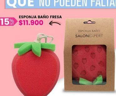 Oferta de Esponja baño fresa por $11900